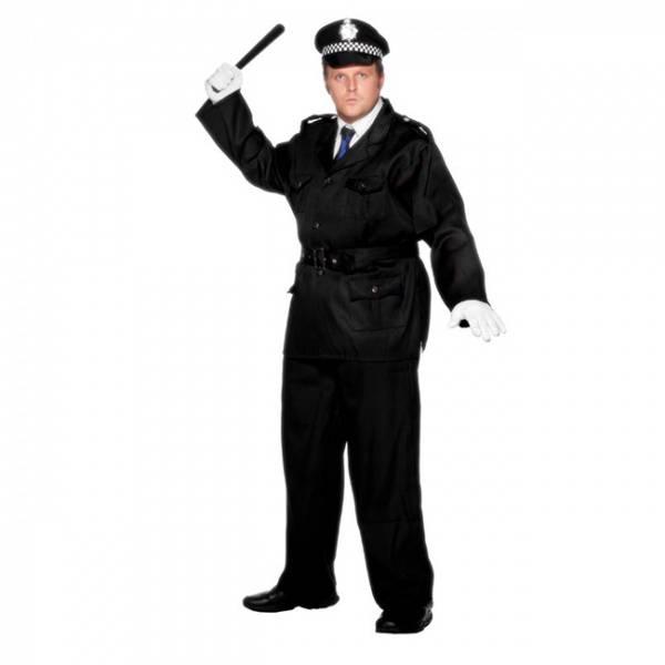 Politi kostyme XL