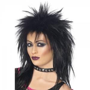 Bilde av Rock Diva sort parykk