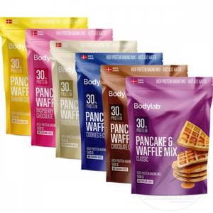 Bilde av Bodylab Pancake & Waffle Mix 500g - Mix Selv 3 stk