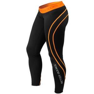 Bilde av Better Bodies Athlete Tights - Black/orange XS - 1 STK
