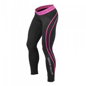 Bilde av Better Bodies Athlete Tights - Black/pink L - 1 STK