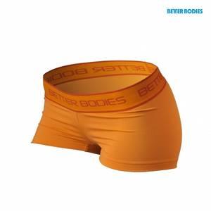 Bilde av Better Bodies Fitness Hot Pant - Orange M - 1 STK