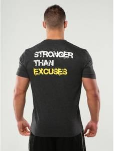 Bilde av Gold's Gym Stronger Than Excuses Tee