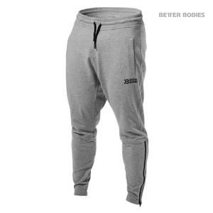 Bilde av Better Bodies Harlem Zip Pants - Greymelange L - 1 STK