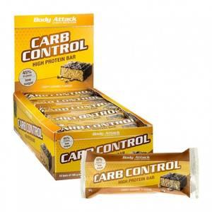 Bilde av Body Attack Carn Control Protein Bar 100g, Crispy Caramel 15-pak