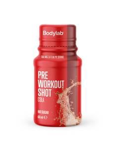 Bilde av Bodylab Pre Workout Shot 60ml Cola