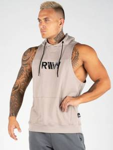 Bilde av Ryderwear Flex Sleeveless Hoodie - Tan XL