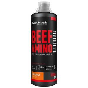 Bilde av Body Attack Beef Amino Liquid 1 liter, Orange
