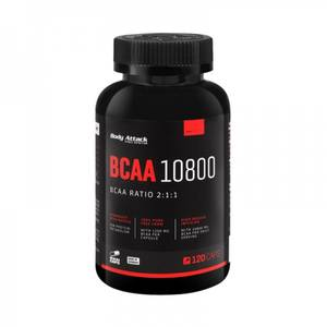 Bilde av Body Attack BCAA 10800, 120 Caps