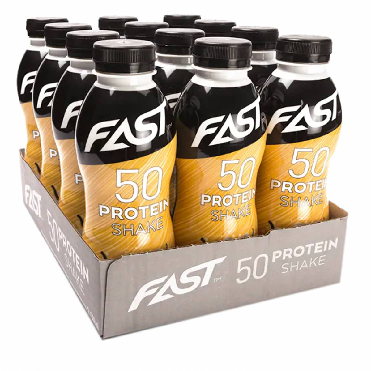 FAST Protein 50 shake - 500ml x 12stk - Vanilla