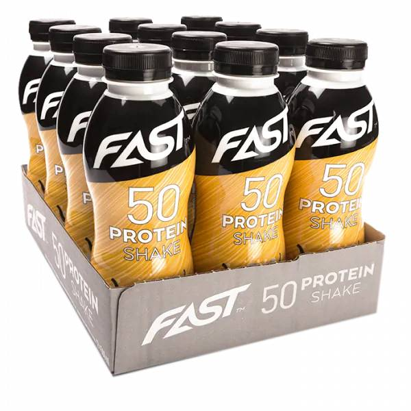 Bilde av FAST Protein 50 shake - 500ml x 12stk - Vanilla