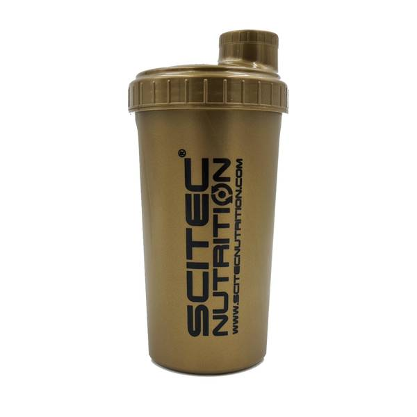 Bilde av Shaker Scitec 700ml - Gold/Black text