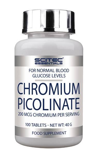 Bilde av Chromium Picolinate - 100 tab