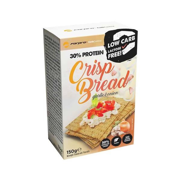Bilde av 30% Protein Crisp Bread, 150g, Garlic & Onion