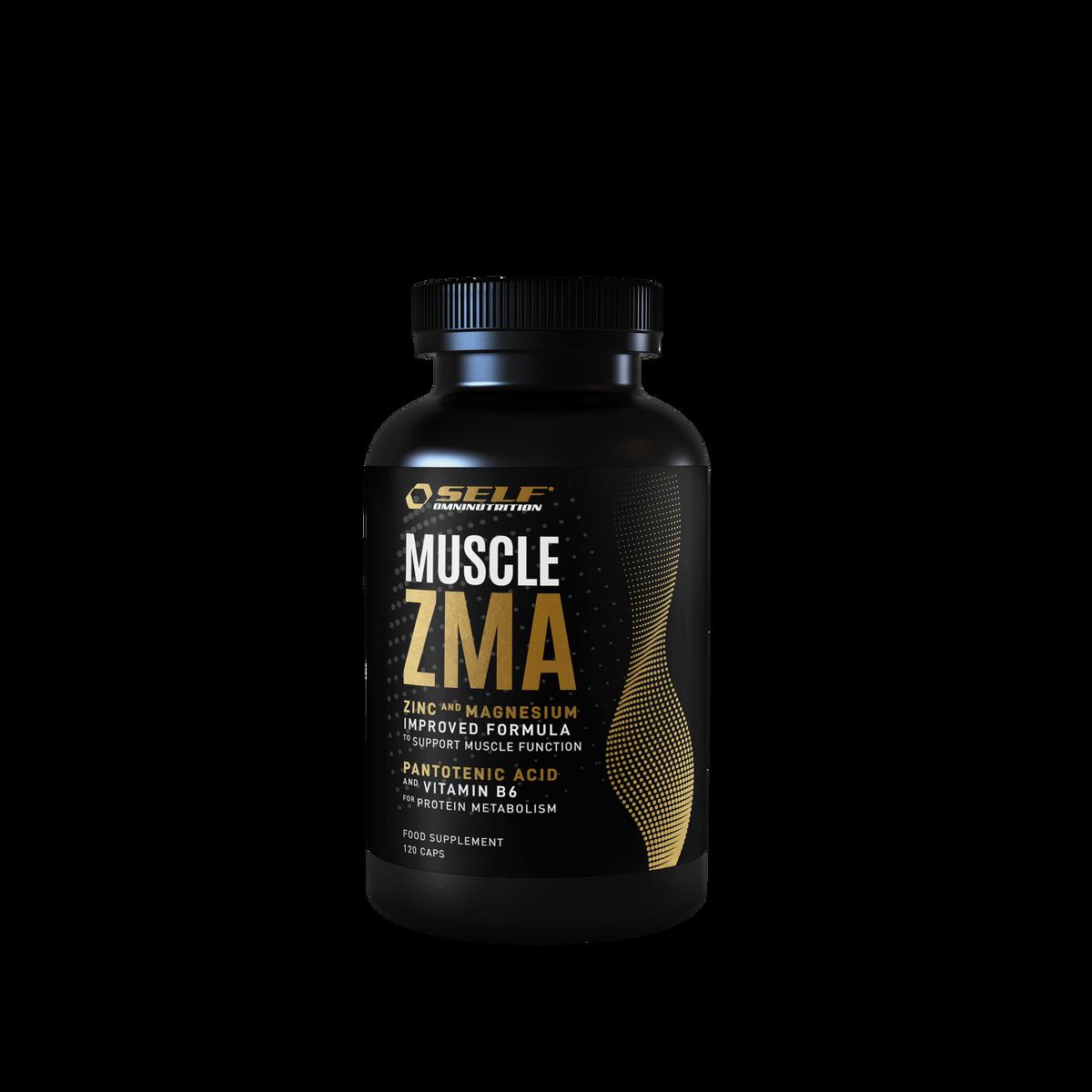 Muscle ZMA - 120 kapsler