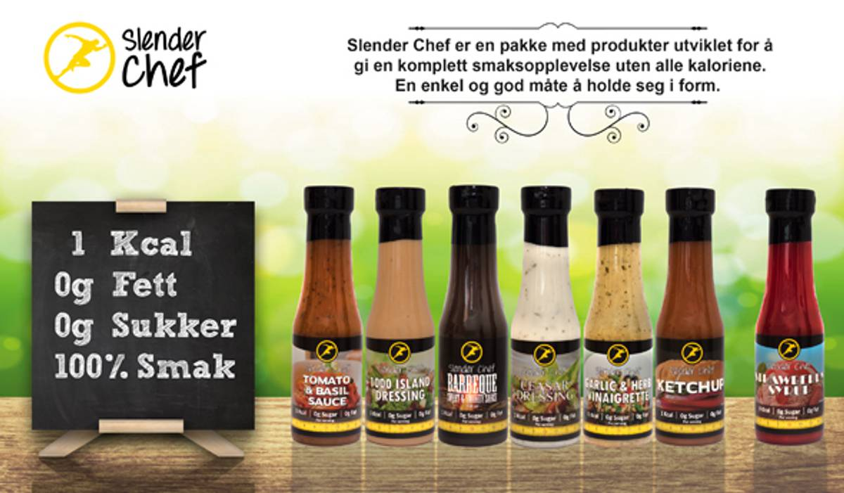 Slender Chef Barbeque (6x350ml)