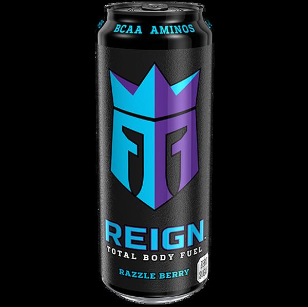 Bilde av REIGN Razzle Berry 0,5L boks x 12 stk