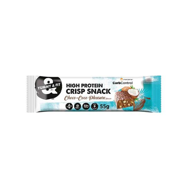 Bilde av High Protein Crisp Snack, 55g, Choco-Coco Pleasure