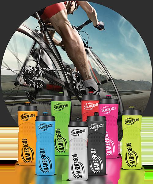 Bilde av Bike bottle 650ml - med logo og valgfri farger  - 500 stk