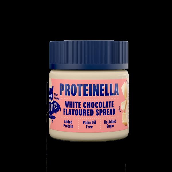 Bilde av Healthyco Proteinella 200g x 12stk, White Chocolate
