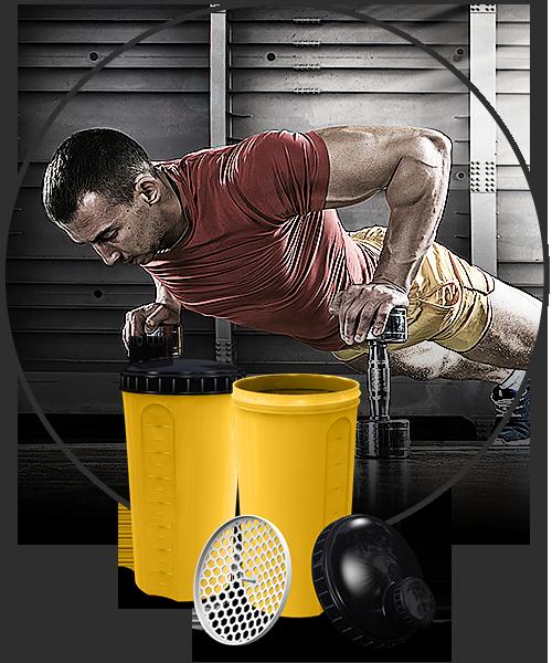 Bilde av Shaker 700ml - Valgfri farger shaker, kork, lokk, og logo - 264