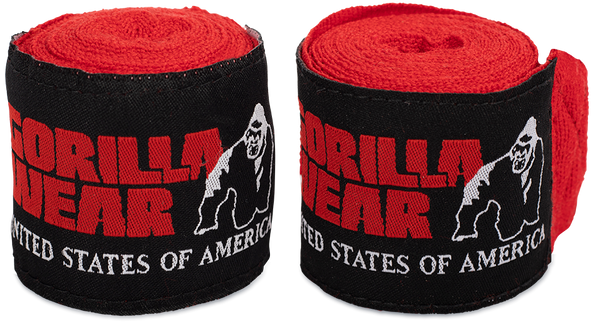 Bilde av Boxing Hand Wraps - Red