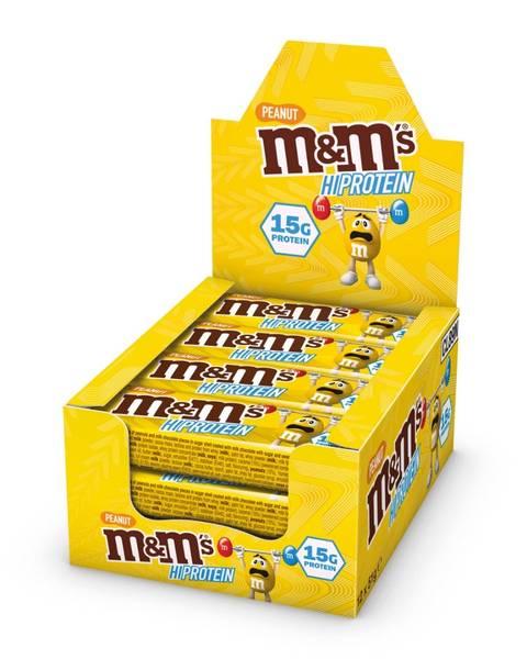 Bilde av M&M Protein Bar, 12x51g, Peanut