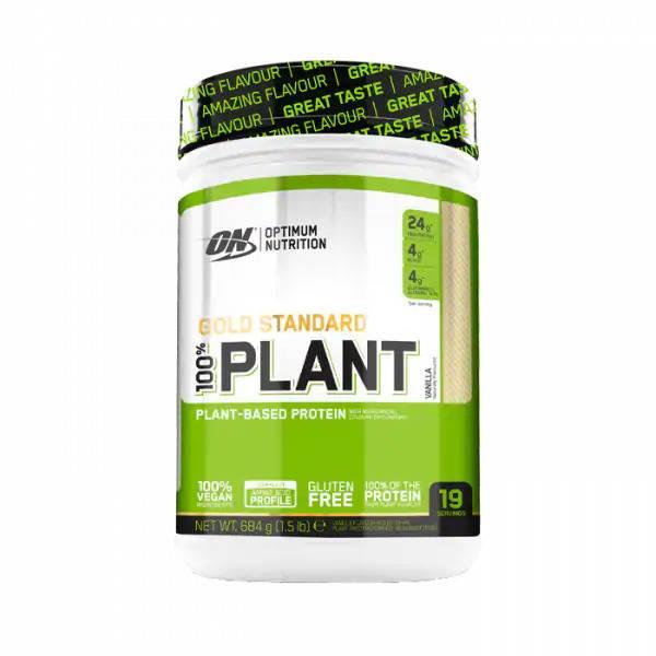 Bilde av 100% Plant Protein Gold Std - 684g - Vanilla