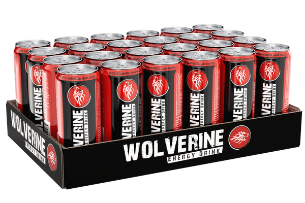 Bilde av Wolverine Energy Drink 250ml - 24stk Regular
