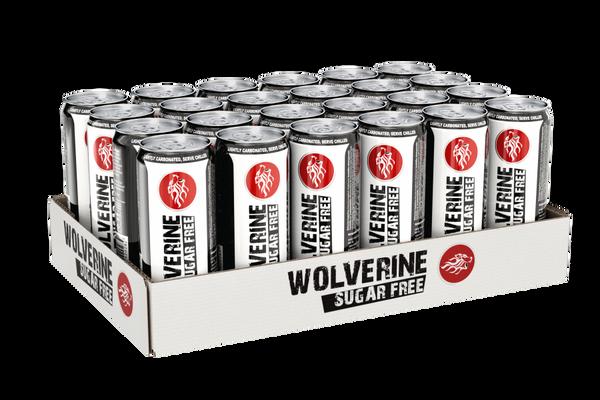 Bilde av Wolverine Energy Drink 250ml - 24stk - Suger Free