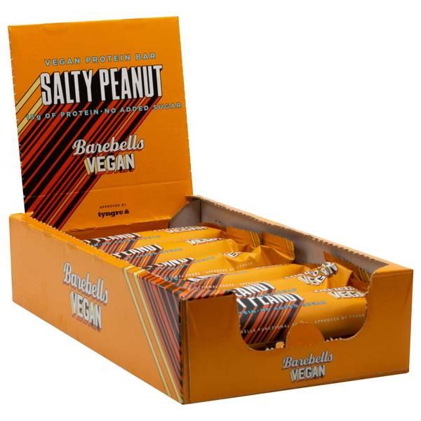 Bilde av Barebells Vegan Protein Bar, 55g x 12stk, Salty Peanut
