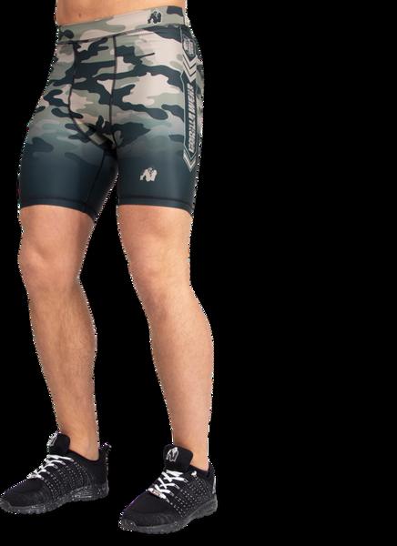 Bilde av Franklin Men's Shorts - Army Green Camo