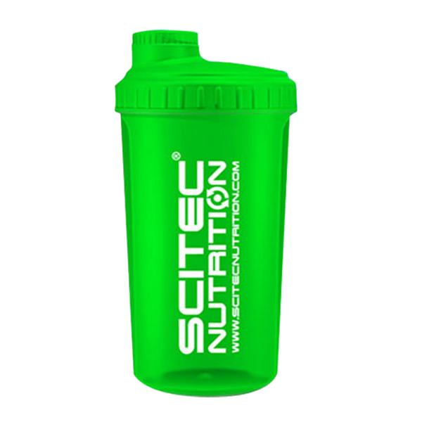 Bilde av Scitec Shaker 700ml Transparent Neon Green