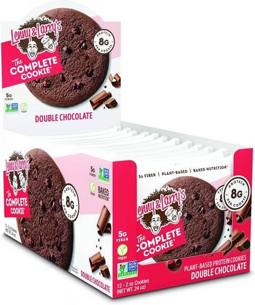 Bilde av Lenny & Larry Protein Cookie, 12x113g, Double Chocolate