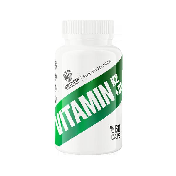 Bilde av Vitamin K2 + D3, 60 caps