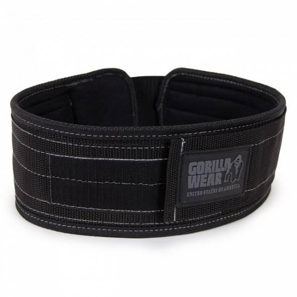 Bilde av Nylon belte (10cm) - Black/Gray