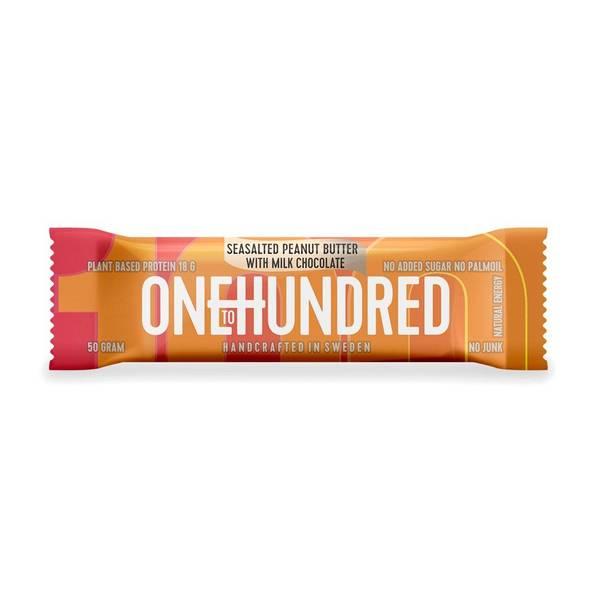 Bilde av Protein Bar - Seasalted peanut butter w/milk chocolate  12x50g