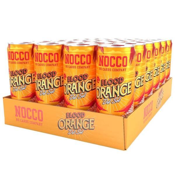 Bilde av NOCCO Blood Orange del Sol 330ml X 24 stk.
