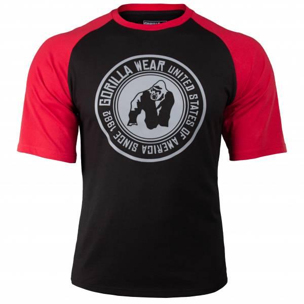 Bilde av Texas T-shirt - Black/Red