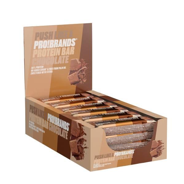 Bilde av ProteinPro Bar 45g x 24stk - Chocolate