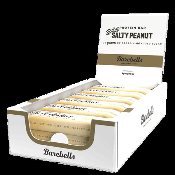 Bilde av Barebells Protein Bar 12stk - 55g - White Salty Peanut