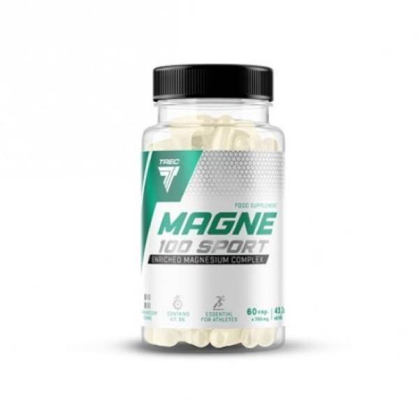 Bilde av Magne-100 Sport 60 kapsler