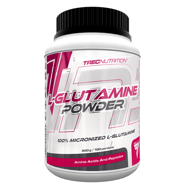 Bilde av L-Glutamine Powder, 500g ( BF: 06.2021