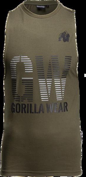 Bilde av Dakota Sleeveless T-shirt - Army Green
