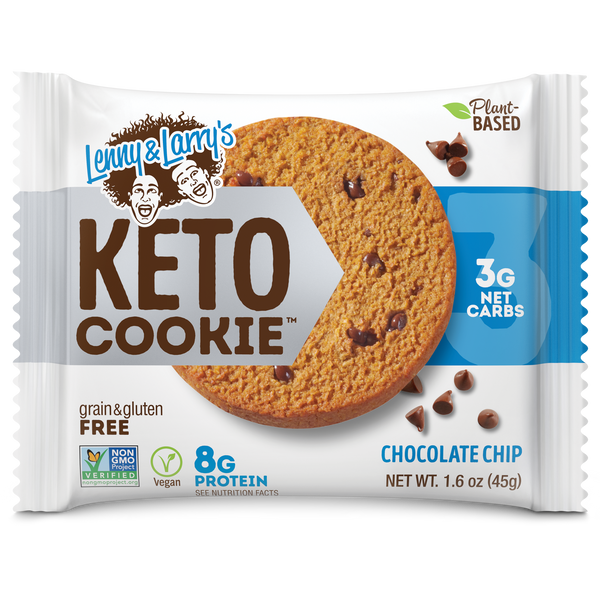 Bilde av Lenny & Larry KETO Cookies, 12x45g, Chocolate Chip