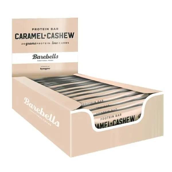 Bilde av Barebells Protein Bar 12stk - 55g - Caramel & Cashew