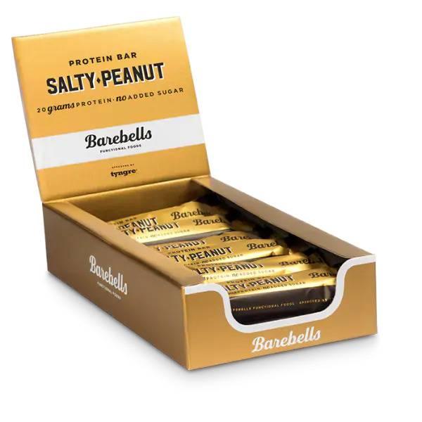Bilde av Barebells Protein Bar 12stk - 55g - Salty Peanut