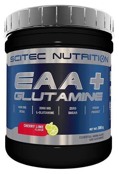 Bilde av EAA + Glutamine - 300g - Cherry Lime