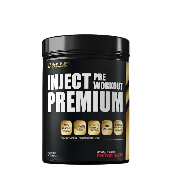 Bilde av Inject Pre-workout - 400g - Fruit Punch