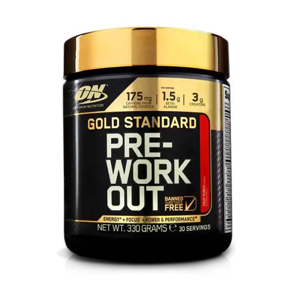 Bilde av GoldStandardPre-Workout -330g
